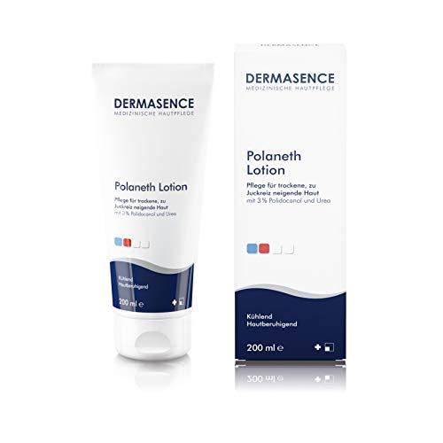 DERMASENCE Polaneth Lotion - Pflege für trockene und zu Juckreiz neigende Haut - 200 ml