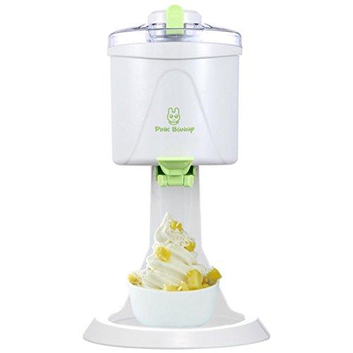 GZD Gelatiera, caffettiera, sorbetto e frozen yogurt machine, DIY 1L grande capacità