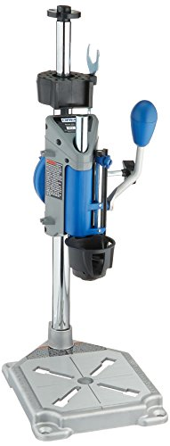 Dremel Drill Press Rotary Tool Workstation Stand with Wrench- 220-01- Mini Portable Drill Press-...