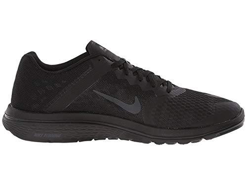 Nike Womens Fs Lite Run 3 Running Shoe (12 B(M) US, Black/Anthracite/Dark Grey)