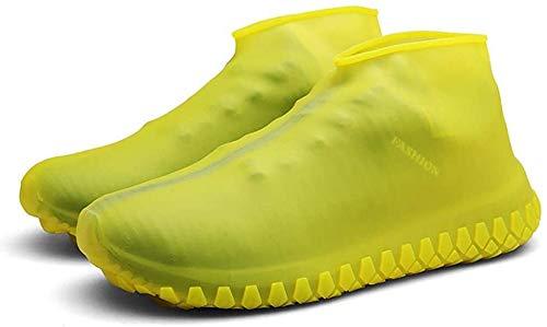 CHENKLE wasserdichte Silikon-Schuh-Abdeckungen, wiederverwendbarer Regen Socken, rutschfeste Überschuhe, Schuhschützer Überschuhe Regen Galoschen für Kinder, Männer und Frauen