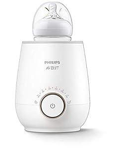 Philips Avent SCF358/00- Calienta biberones rápido, función de descongelación, calienta leche y recipientes de comida para bebés