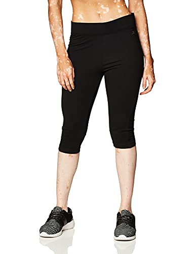 Danskin Women s Capri Legging, Black, XL