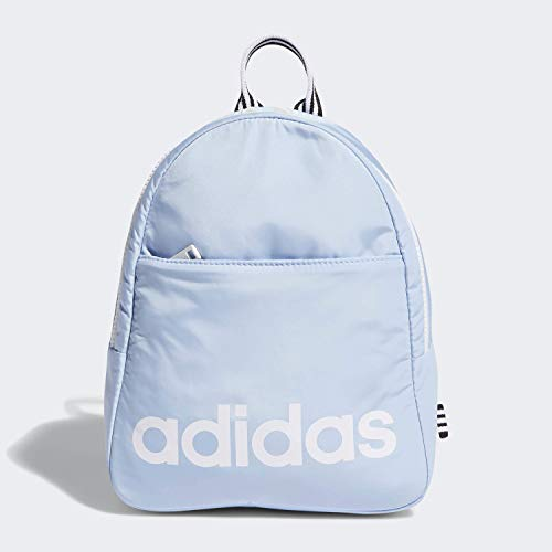 adidas Unisex Core Mini Backpack, Glow Blue/White/Black, ONE SIZE