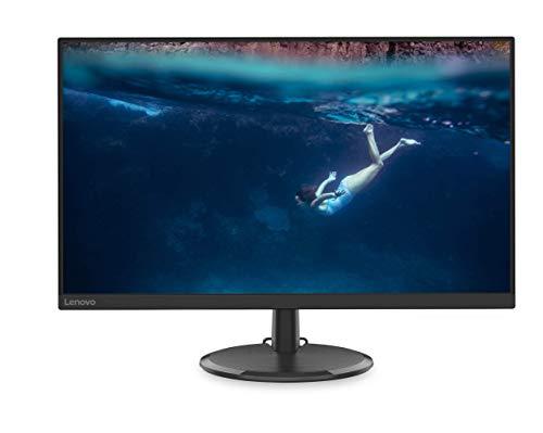 "Lenovo C27-20 27.0 "" FHD IPS FreeSync Gaming Monitor 75 Hz 4 ms HDMI+VGA 3 lados sin bordes - Negro"