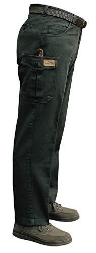 La Chasse Jägerjeans Jagdjeans Jeanshose Damenhose Jeans Jagdhose Jägerhose für Damen olivgrün Jeanshose (44 (Damengröße))