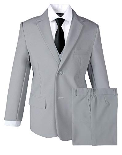 What Can I Wear With a Dark Grey Suit?