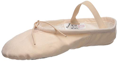 39 EU SANSHA 8C ENTRECHAT Chaussure de danse Demi-pointes pour Femme en Toile Rose Taille Fabricant: 9
