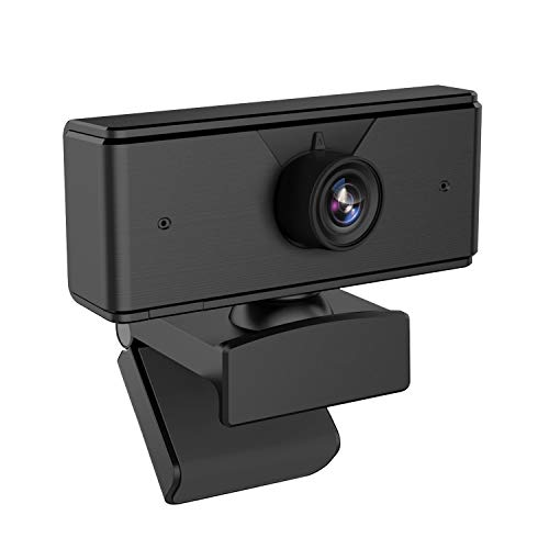 Ylife 1080P Full HD Webcam with Mic, Quick Focus, Computer Camera for Video Education, Portable Camera, USB PC Webcam for Video Call, Recording, Meeting, Games