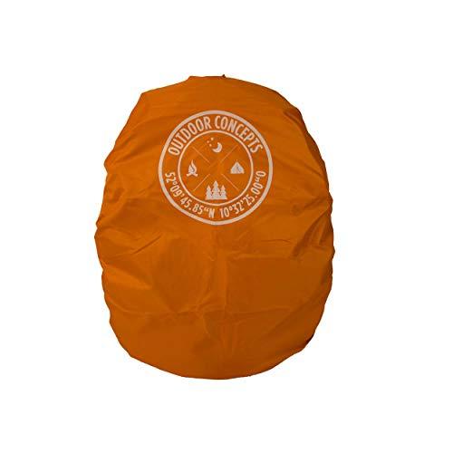 Outdoor Concepts - Copertura antipioggia per zaino, colore: Arancione