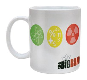 Mug Blanc Symboles The Big Bang Theory
