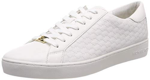 Michael Kors Damen Mkors Colby Sneaker, Weiß (Optic White 085), 39 EU