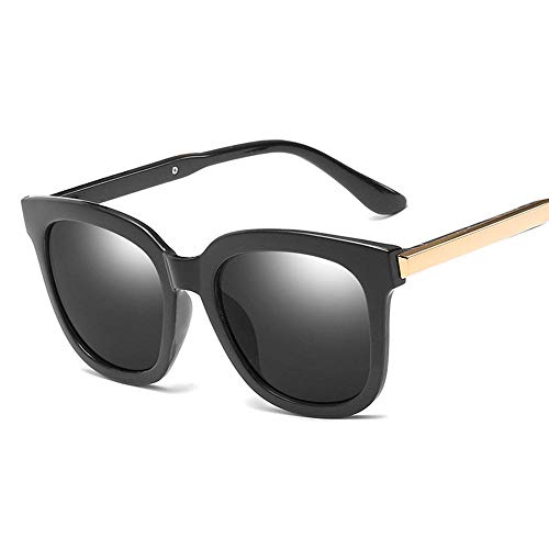 chuanglanja Gafas De Sol Gafas De Sol Ovaladas De Moda Para Mujer Lentes De Espejo Con Revestimiento Para Mujer Gafas De Sol De Ojo De Gato UV400-01