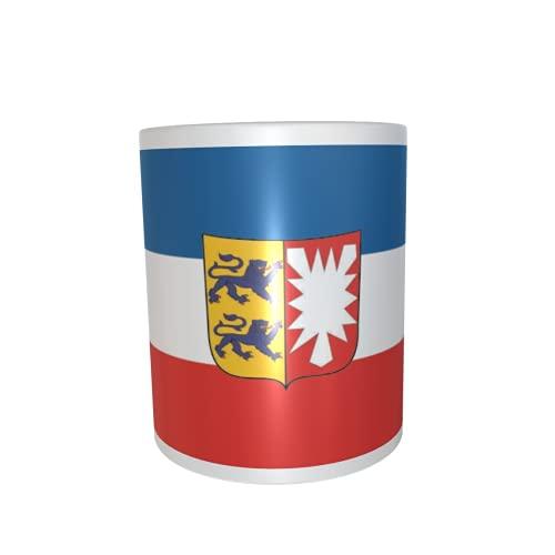 U24 Tasse Kaffeebecher Mug Cup Flagge Schleswig-Holstein