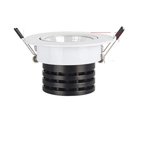 Foco LED blanco Encastrable it Downlight 3W 5W 7W 10W Iluminación empotrada Seguridad Saludable para el hogar-Pure_White_7W