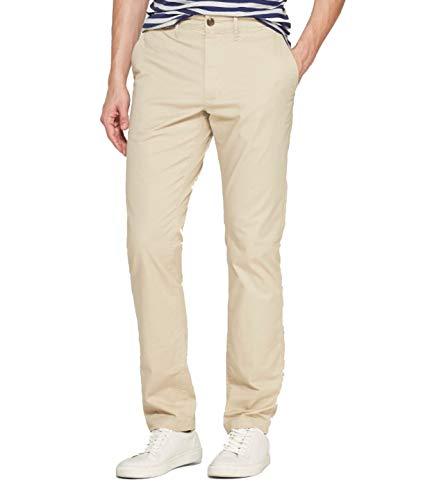 Goodfellow & Co Men's Lightweight Slim Fit Hennpin Chino Pants - (Pita Bread, 34x30)