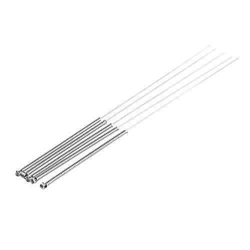 5pcs 0.4mm Accesorios del Equipo de las herramientas taladro de la aguja para limpiar las brocas de 3D impresora