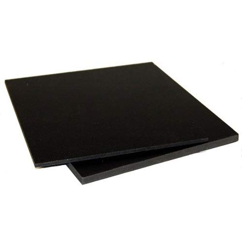 Lastra PVC 1000x500x3mm Nero