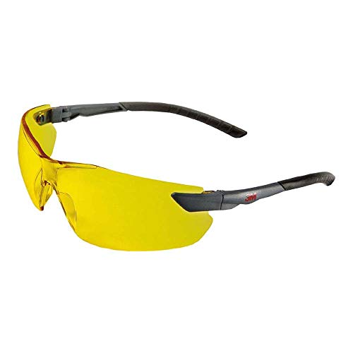 3M 2822 Schutzbrille, AS/AF, Gelb Getönt