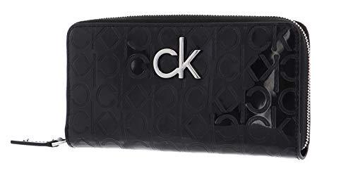 Calvin Klein Männer Slipper Swimwear CK Artikel KM0KM00498 ONE Mold Slide, BEH Pvh Black, Piede 39