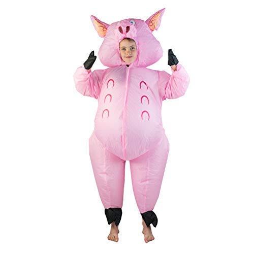 Bodysocks® Inflatable Pig Costume (Kids) 964049f3d603