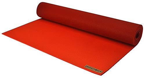 "Jade Yoga - Harmony Yoga Mat (3/16"" Thick x 24"" Wide x 71"" Long - Color: Chili Pepper/Sedona Red)"