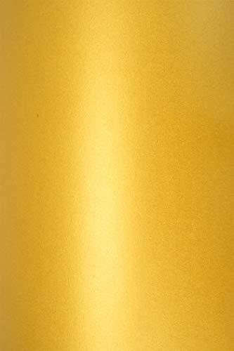 10 Blatt Perlmutt-Gold 290g Karton DIN A4 210x297 mm, Cocktail Mai Tai, ideal für Hochzeit, Geburtstag, Weihnachten, Einladungen, Diplome, Kunst und Handwerk