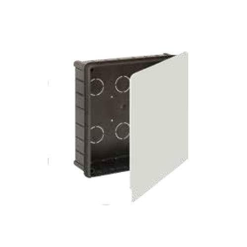 Solera 623 - Caja empalme y derivación.Instalación empotrada.Tapa garra metálica. De 150x150x50.12...