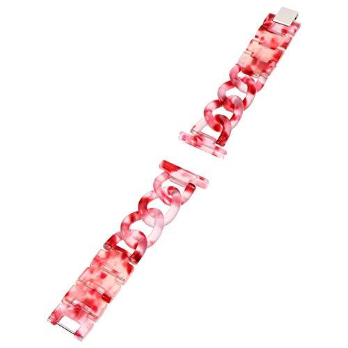 Baluue Compatible con Gear S3 Frontier/Gear S3 Classic Band/Galaxy Watch 22Mm- Correa de Repuesto de Reloj de Resina Correa de Liberación Rápida con Cierre de Acero Inoxidable para
