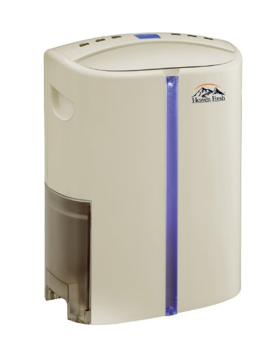Heaven Fresh HF 610 NaturoPure Deumidificatore con filtro al carbone attivo e UV, 20 Litri