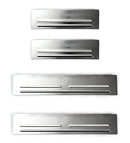 Set of 4 Wind Screen - Waterproof Aluminum Grill Accessories for Outdoor Cooking (for Blackstone 28')