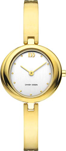 Deens Design Womens Analoog Klassiek Quartz Horloge met Titanium Band DZ120725