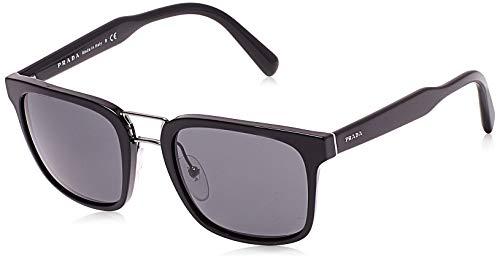 Prada Herren 0Pr14Ts 1Ab5S0 53 Sonnenbrille, Schwarz (Black/Grey)