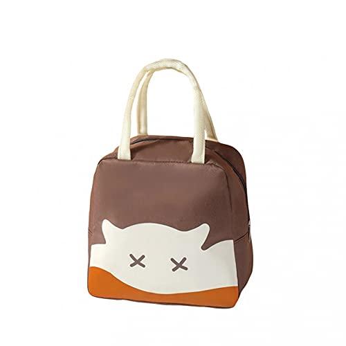 Mllkcao Lunch Box Sac Lunch Bag Isolation Thermique Sac De Stockage des Aliments Portable Voyage De Travail Bento Box