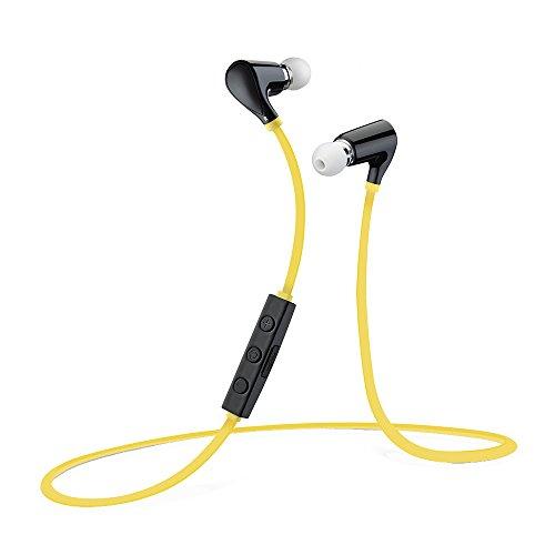 VicTsing QY5 Bluetooth 4.0 Kopfhörer Wireless Bluetooth Ohrhörer Sport Stereo In-Ear-Kopfhörer mit Mikrofon der Freisprechfunktion für iPhone 6 Plus 6 5S 5C 5 4S 4 Samsung Galaxy S6 S5 S4