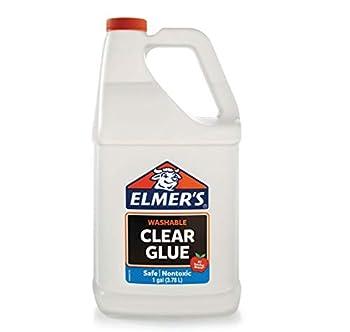 gallon of glue clear