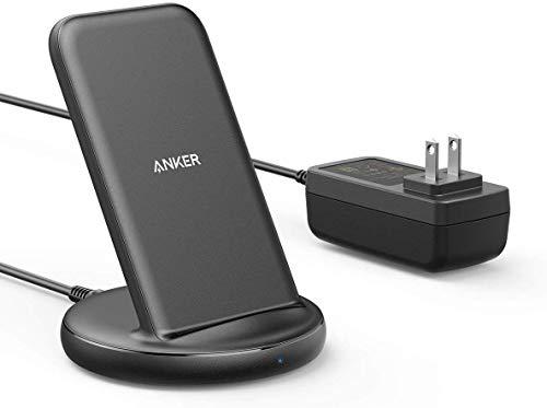 【表示価格から15%OFF】 Anker PowerWave II Stand ワイヤレス充電器 Qi 認証 iPhone 11 / 11 Pro / 11 Pro Max / SE(第2世代)/ X...