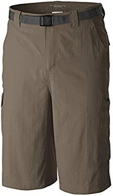 Columbia Men's Silver Ridge Cargo Short, Sage, 34 x 12