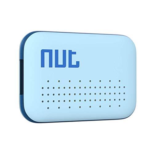 Nutale Mini Buscador de Llaves Bluetooth - Localizador de Llaves Buscador Alarma Anti-pérdida Llavero Inteligente - Batería Reemplazable