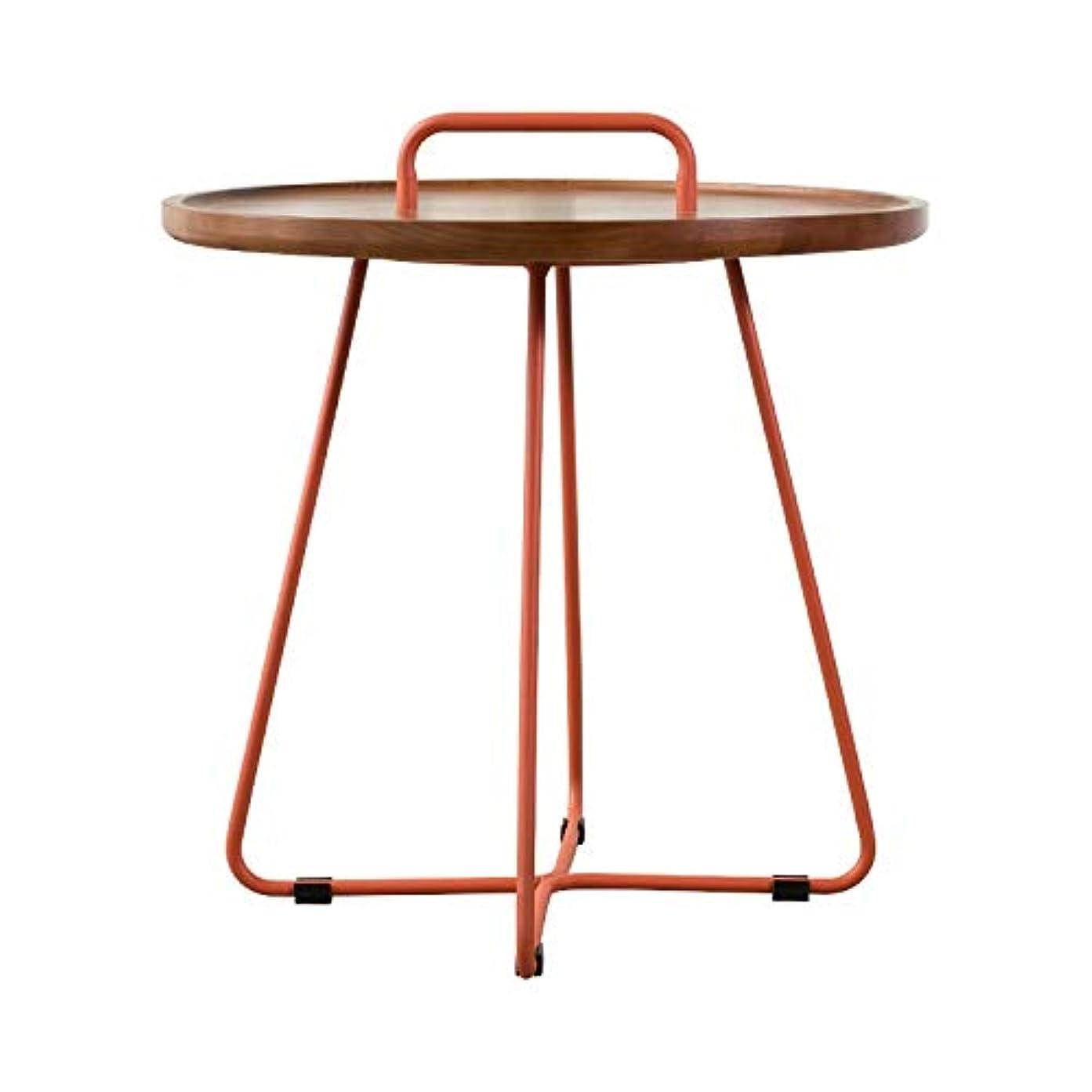 シールアクティビティ有効化QJL_ANA リビングルームベッドルームバルコニーファミリー、オフィス用のサイドテーブル現代ナイトラウンド側エンドアクセントコーヒーテーブル