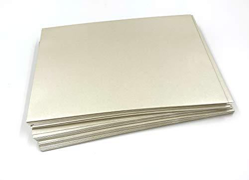 25 sobres de nácar, de color perla, 'White Pearl', C5 = 229 x 162 mm, cierre autoadhesivo con tira, Premio: 100 g/m²
