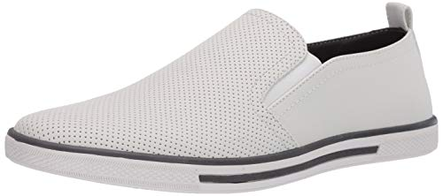 Unlisted, A Kenneth Cole Production mens Crown Slip on Sneaker, White, 10.5 US