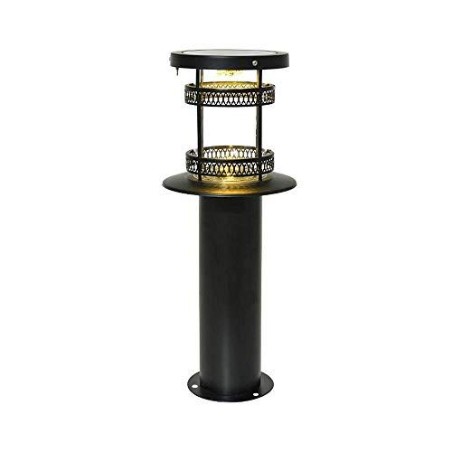 Lâmpada solar de gramado LED para exterior IP65 à prova d'água vintage...