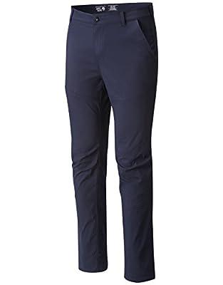 Mountain Hardwear Men's AP Pant for Hiking, Climbing, Camping, and Casual Everyday - Dark Zinc - 40-32