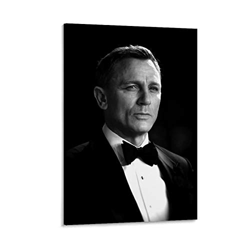 NUOMANAN 007 James Bond Pays Tribute to Classics Modern Art Canvas Wall Paintings 08x12inch(20x30cm) Movie poster artwork For living room home decoration Unframed/Frameable