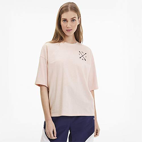 PUMA Damen Selena Gomez T-Shirt beige S