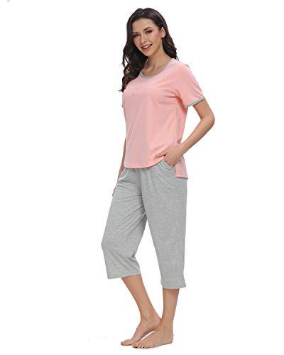 GOSO Conjunto Pijamas para Mujer-Pijamas para Mujer Cartoon