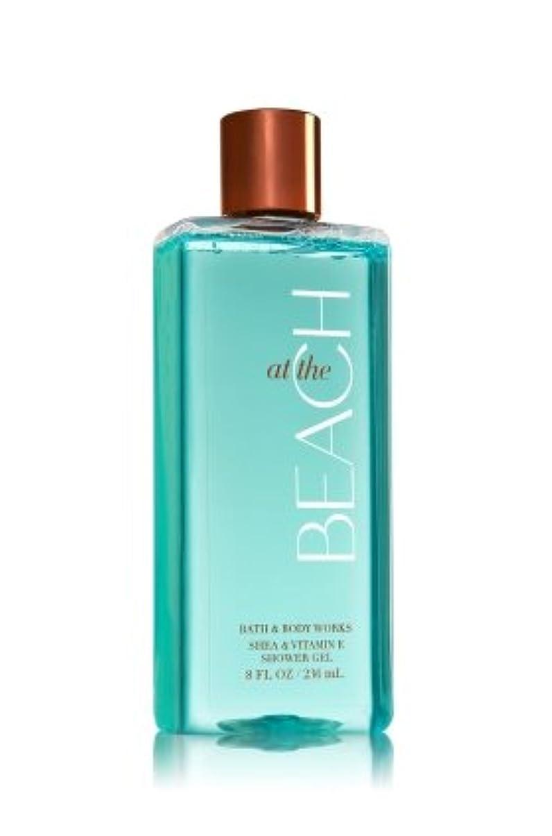 ナンセンスガードモーター【Bath&Body Works/バス&ボディワークス】 シャワージェル アットザビーチ Shower Gel At The Beach 8 fl oz / 236 mL [並行輸入品]