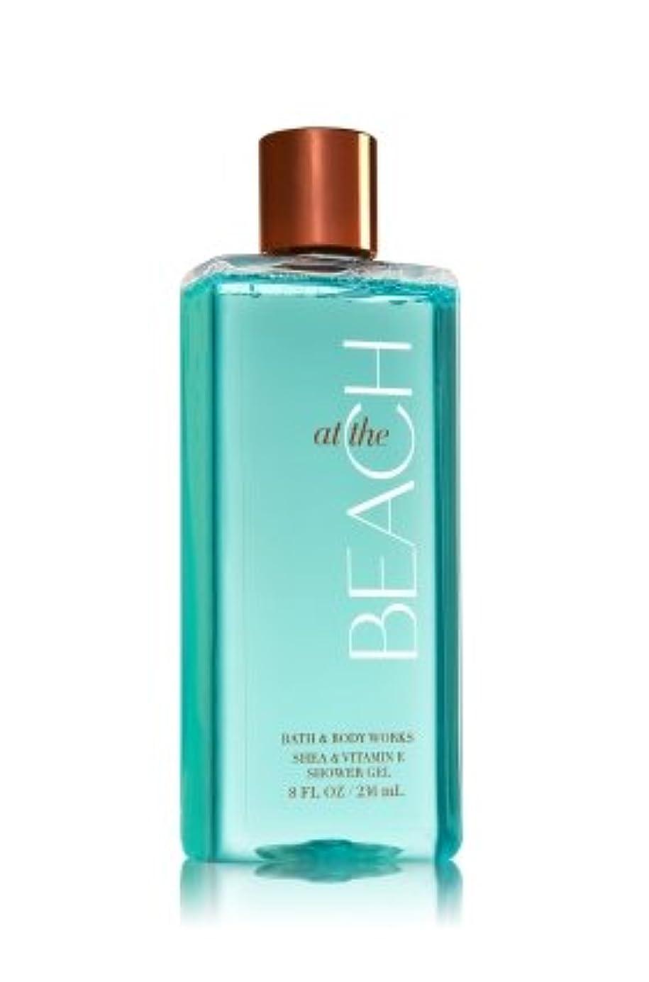 友情ガチョウラウズ【Bath&Body Works/バス&ボディワークス】 シャワージェル アットザビーチ Shower Gel At The Beach 8 fl oz / 236 mL [並行輸入品]