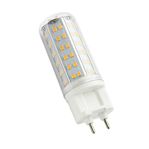 ZIBEI G12 LED Leuchtmittel 10W ersetzt 100W Halogenlampen,AC 90-265V, 1000LM,Warmweiß 3000K, Nicht Dimmbar(1er Pack) [Energieklasse A++]